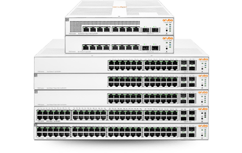 Aruba Instant On Switches con cable